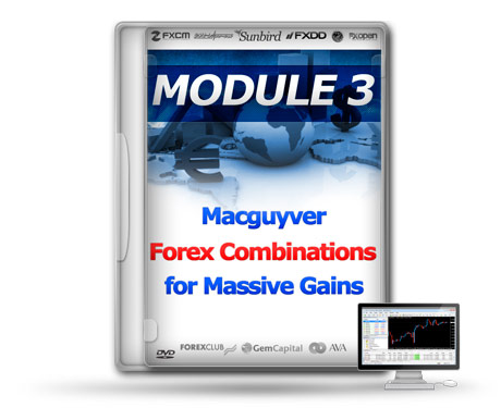 MODULE 3: MacGuyver Forex Combinations For Massive Gains
